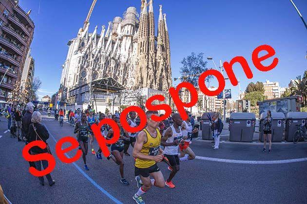 La Zurich Maratón de Barcelona se pospone al 25 de octubre por aplicación del protocolo de prevención del Covid 19