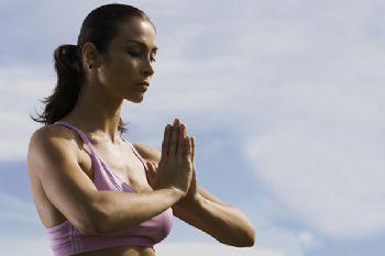 La meditación ayuda a la concentración previa a una carrera