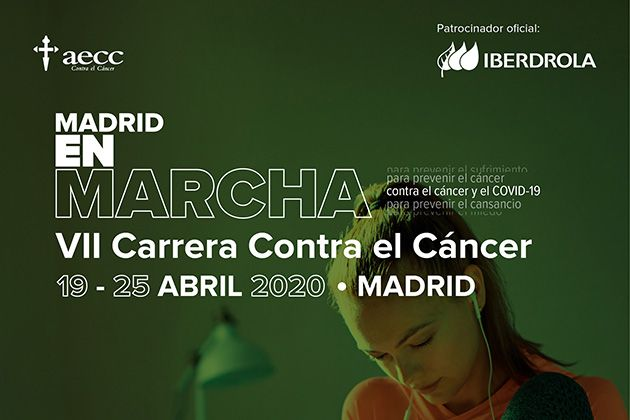 El domingo 19 de abril la Carrera Más Larga de la historia, organizada por la Asociación Española Contra el Cáncer (AECC), se correrá desde casa.