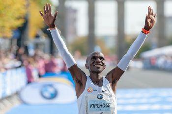 El maratoniano Eliud Kipchoge