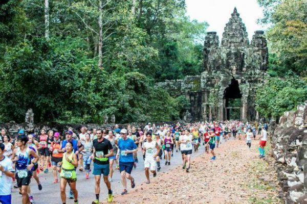 Media maratón de Angkor Wat (Camboya)