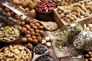 Los frutos secos son una excelente fuente de triptófano