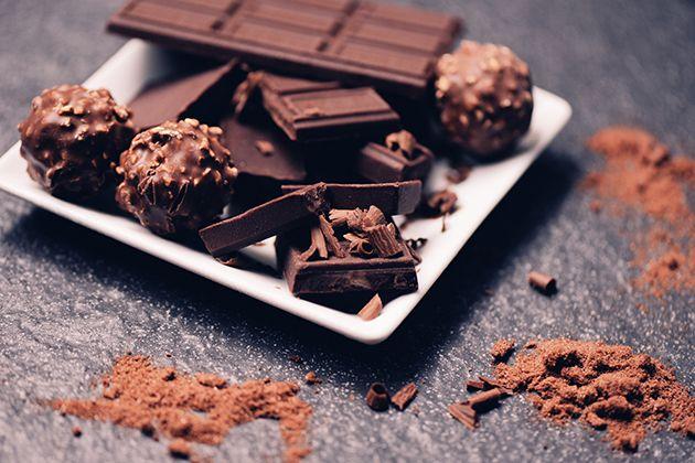 El chocolate negro tiene un alto contenido en triptófano