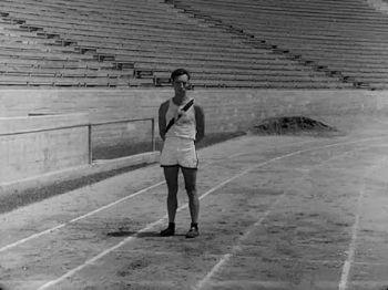 Buster Keaton, en la pista