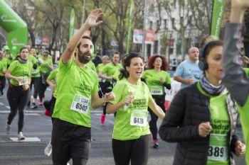 Correr nos hace sentir alegres y disfrutar del momento