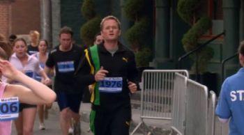 Barney Stinson en el Maratón de Nueva York