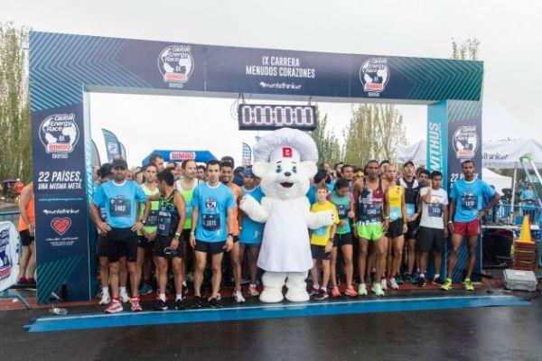 Salida de la última edición presencial de la Global Energy Race en Madrid en 2019