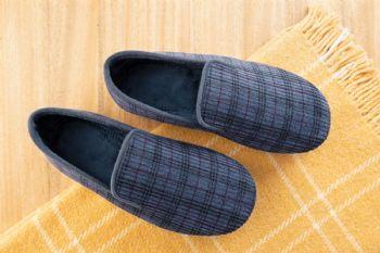 Las zapatillas para la casa deben ser flexibles