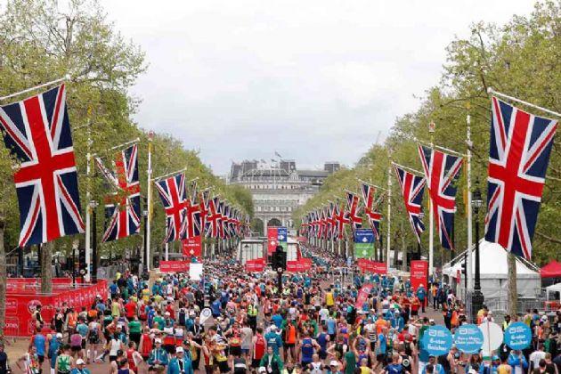 La maratón de Londres se celebra anualmente en la ciudad británica desde 1981